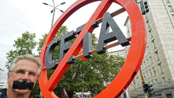Proteste contro il trattato CETA - Sputnik Italia