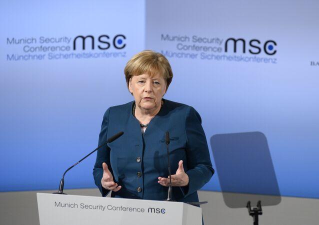 Angela Merkel alla Conferenza sulla Sicurezza di Monaco di Baviera