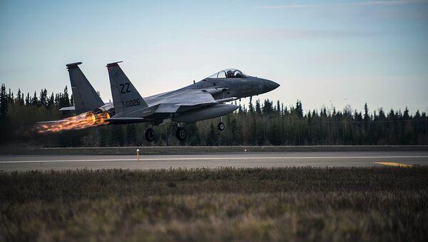 U.S. Air Force F-15 Eagle tactical fighter jet - Sputnik Italia