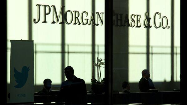 La banca JP Morgan a New York e` il colosso finanziario mondiale - Sputnik Italia