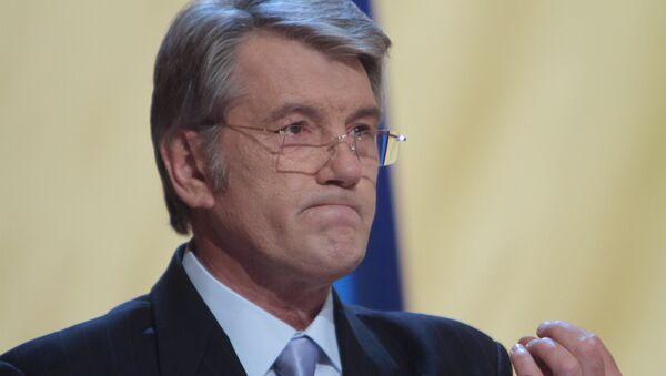 L`ex-presidente ucraino Viktor Yushchenko - Sputnik Italia