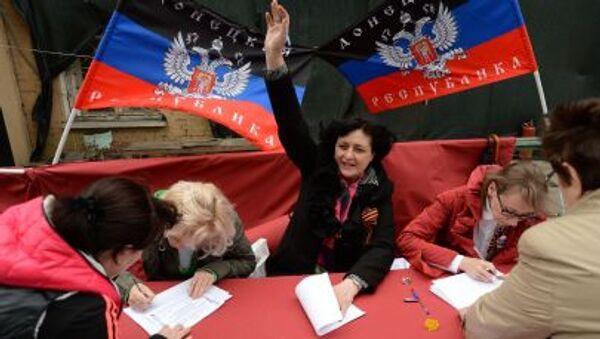 Donbass bandiera - Sputnik Italia