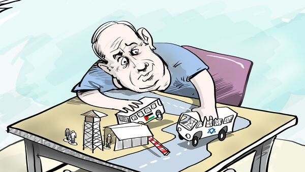 Israele, proposta di autobus separati per israeliani e palestinesi. - Sputnik Italia