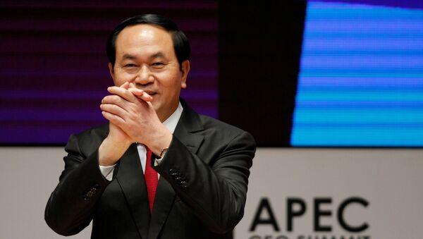 Il presidente del Vietnam Tran Dai Quang - Sputnik Italia