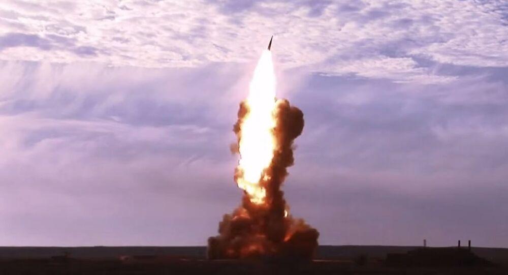 Russian Anti-ballistic missile test