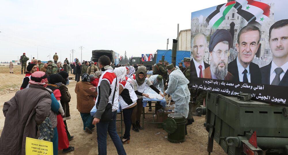 Campo profughi in Siria