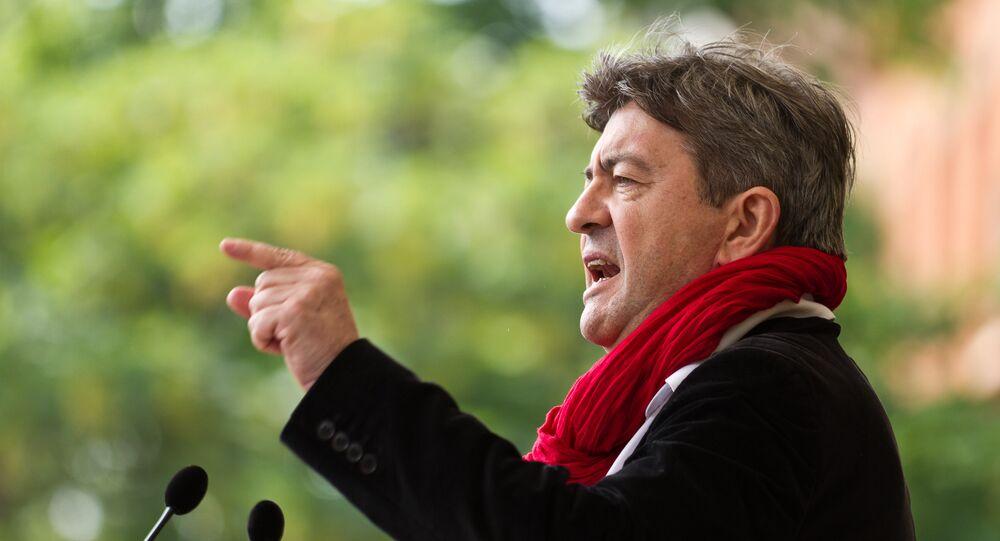 Jean-Luc Mélenchon (foto d'archivio)