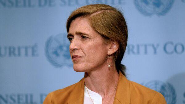 US Ambassador to the United Nations, Samantha Power - Sputnik Italia