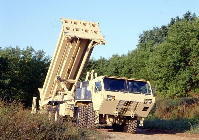Sistema di difesa aerea Thaad (foto d'archivio)