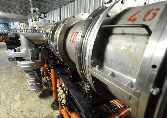 Fisica, acceleratore di particelle russo