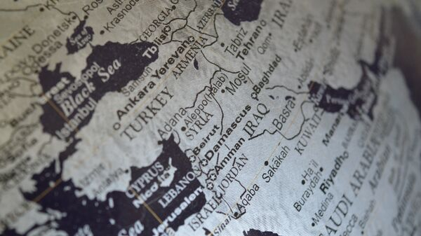 La mappa del Medio Oriente - Sputnik Italia