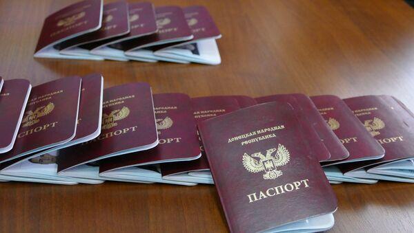 Passports of the Donetsk People's Republic - Sputnik Italia