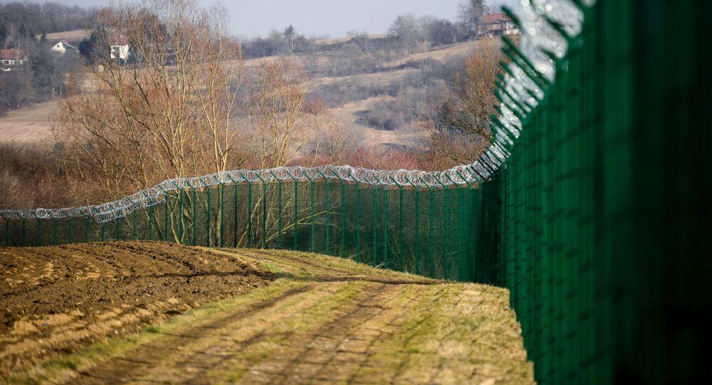 Confine tra Slovenia e Croazia