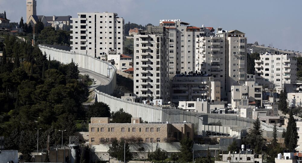 Barriera tra Israele e Cisgiordania