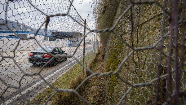 Граница со Словенией со стороны Австрии - Sputnik Italia
