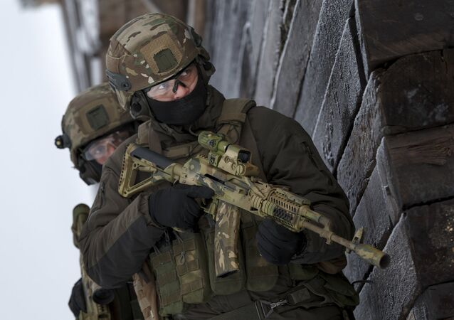 Personnel of the Russian Special Operations Forces