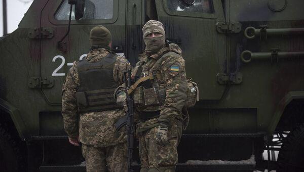 Украинские солдаты в Авдеевке - Sputnik Italia