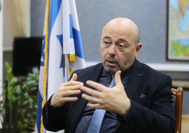 L'Ambasciatore d'Israele in Russia Gary Koren