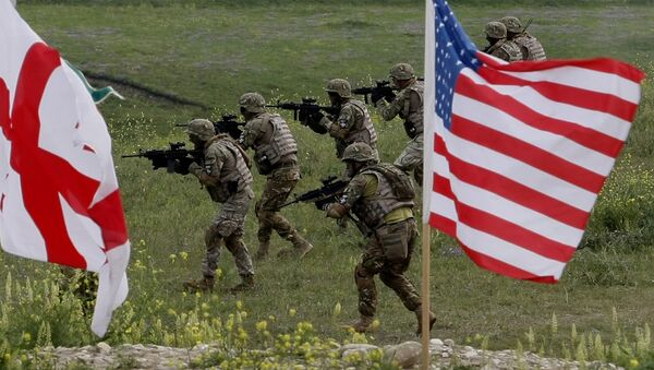 I militari degli USA e Georgia - Sputnik Italia