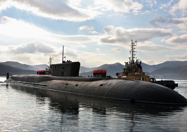 Il sottomarino Vladimir Momomach