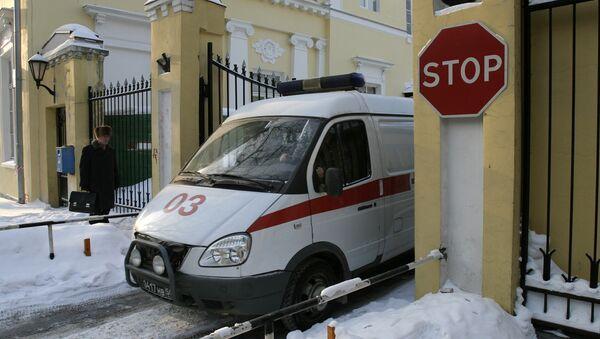 Ambulanza nell'ospedale militare Burdenko - Sputnik Italia