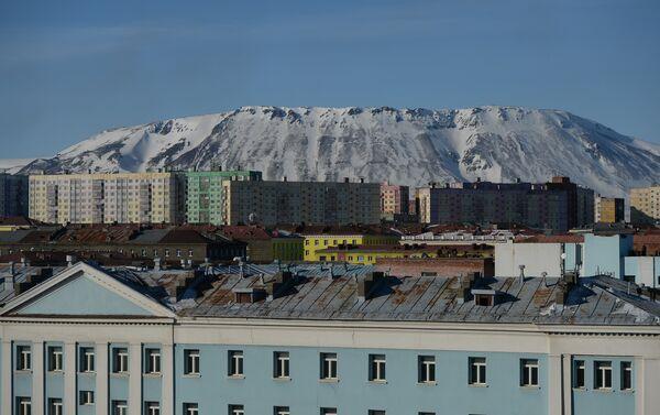 Veduta di Noril'sk, la capitale dell'acciaio russa - Sputnik Italia