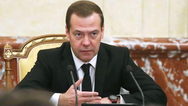 Premier russo Dmitry Medvedev - Sputnik Italia