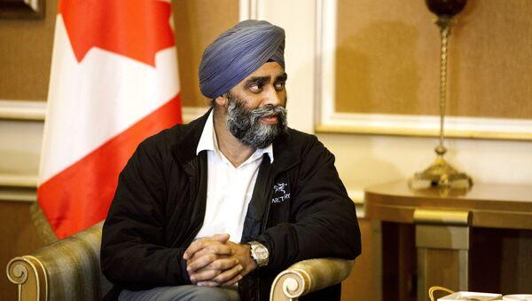 Harjit Sajjan, ministro della Difesa del Canada - Sputnik Italia