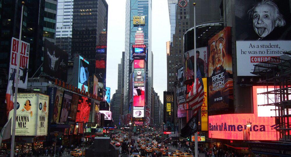 Times Square NY.