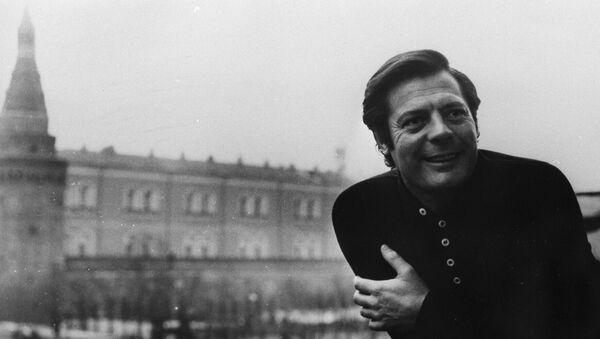 Marcello Mastroianni a Mosca nel 1969 - Sputnik Italia
