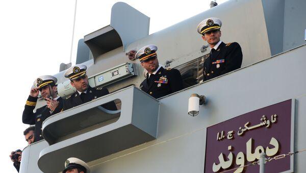 Forze navali iraniane (foto d'archivio) - Sputnik Italia