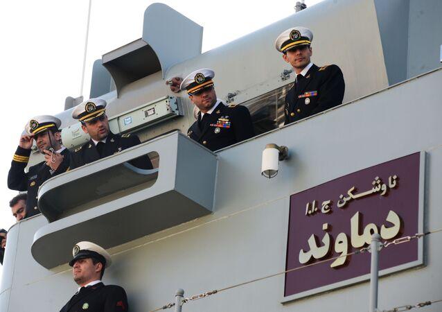 Forze navali iraniane (foto d'archivio)