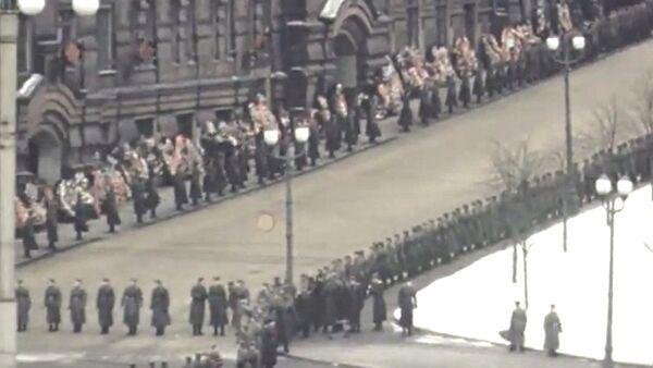 Funerali di Stalin - video a colori mai pubblicato prima - Sputnik Italia