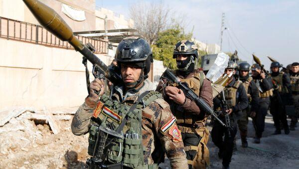 Forze speciali dell'esercito iracheno a Mosul - Sputnik Italia