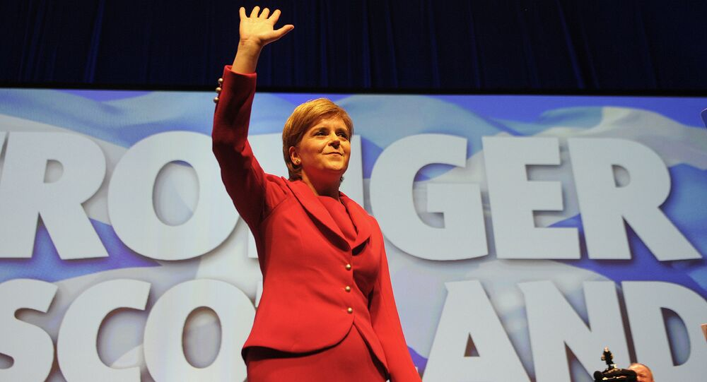Il primo ministro scozzese Nicola Sturgeon