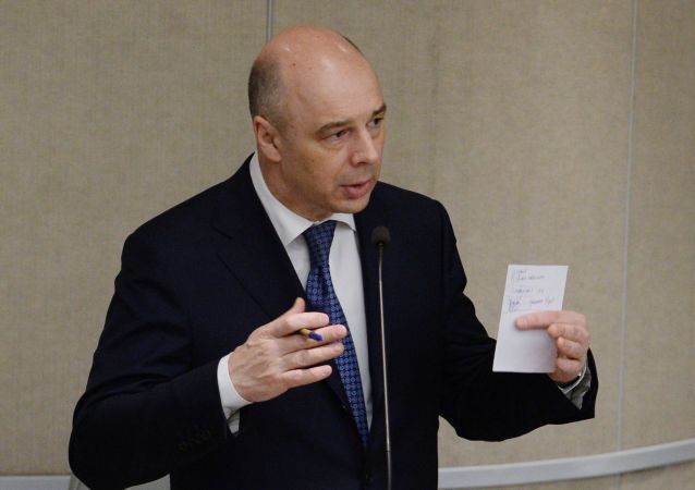 Il ministro del tesoro russo Anton Siluanov