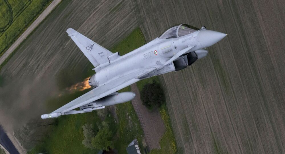 Caccia Eurofighter Typhoon