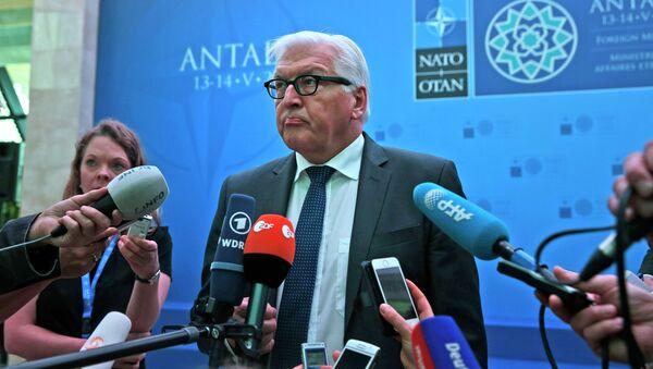 Il ministro degli esteri tedesco Steinmeier - Sputnik Italia