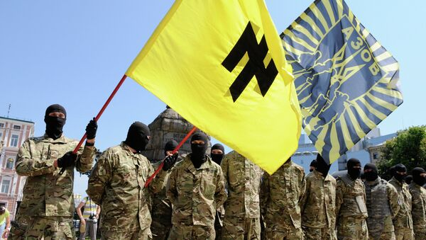 Battaglione paramilitare ucraino Azov - Sputnik Italia
