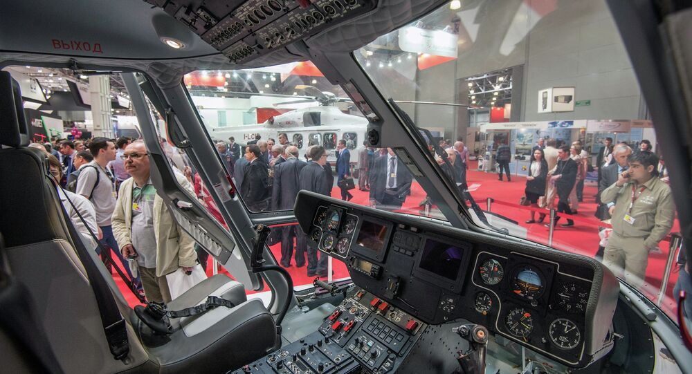 Eighth International Helicopter Technology Exhibition HeliRussia 2015