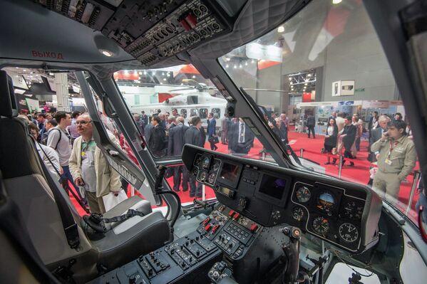 HeliRussia 2015: Esposizione dell'industria elicotteristica a Mosca. - Sputnik Italia