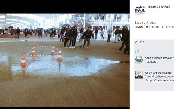 All'EXPO di Milano Le vie dell'Acqua ci sono lo stesso.. - Sputnik Italia