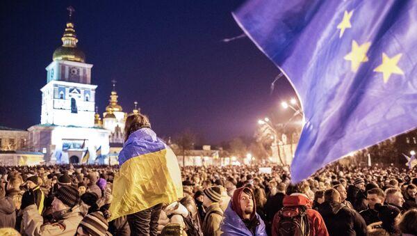 Manifestazione europeista a Kiev - Sputnik Italia