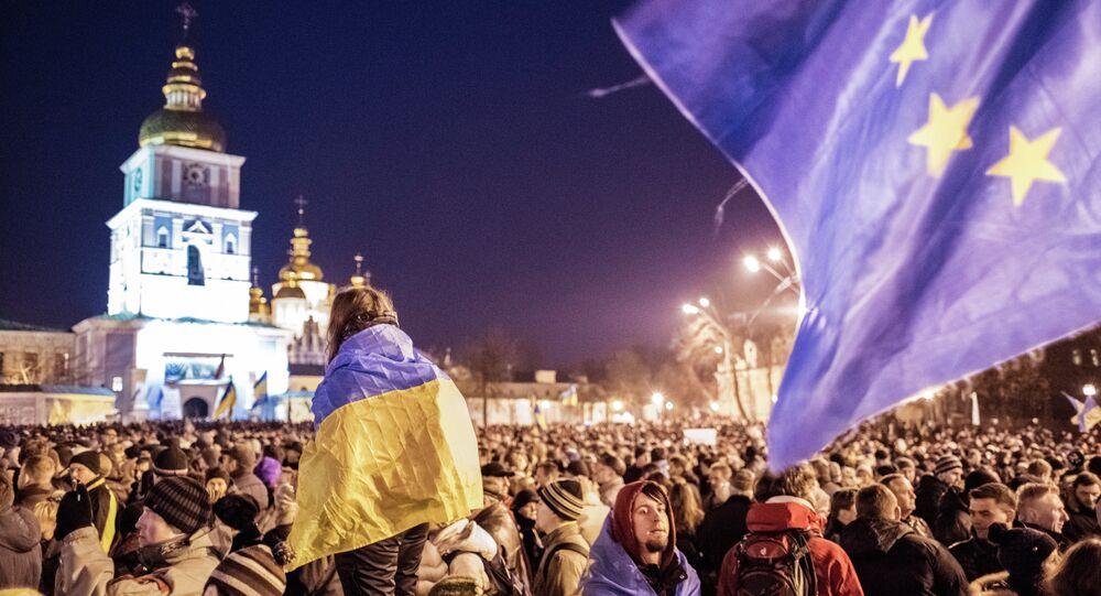 Manifestazione europeista a Kiev