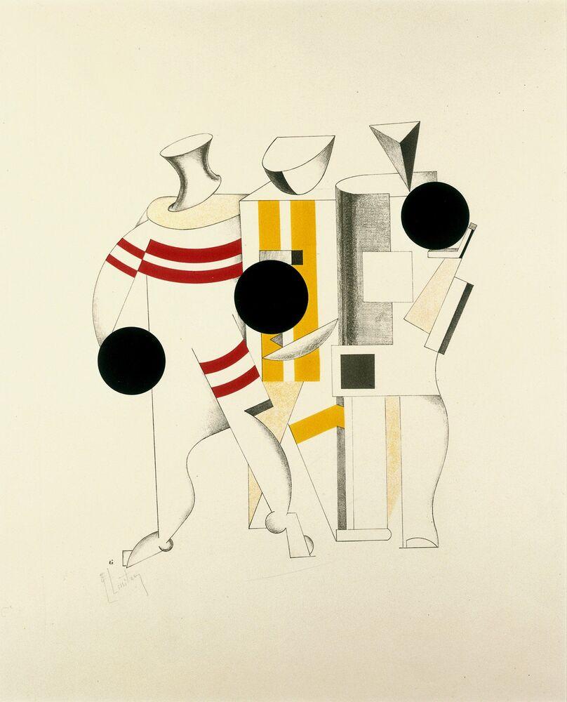Le opere presentate alla mostra coprono il periodo dagli anni '20 agli anni '30.