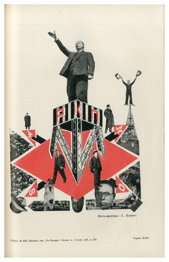 Il poster di Kulagina.