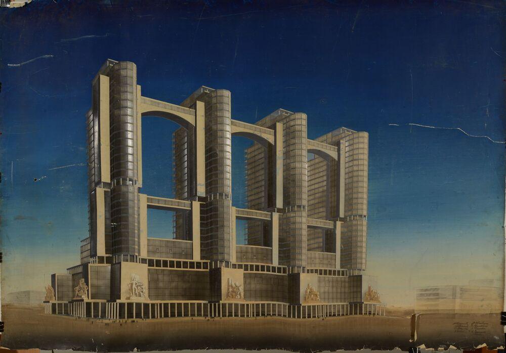 Il progetto di Aleksej Ščusev.