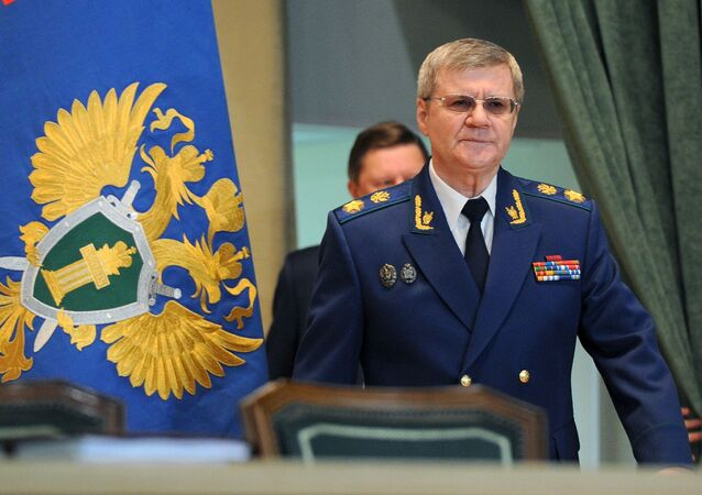 Procuratore generale della Russia Yury Chaika