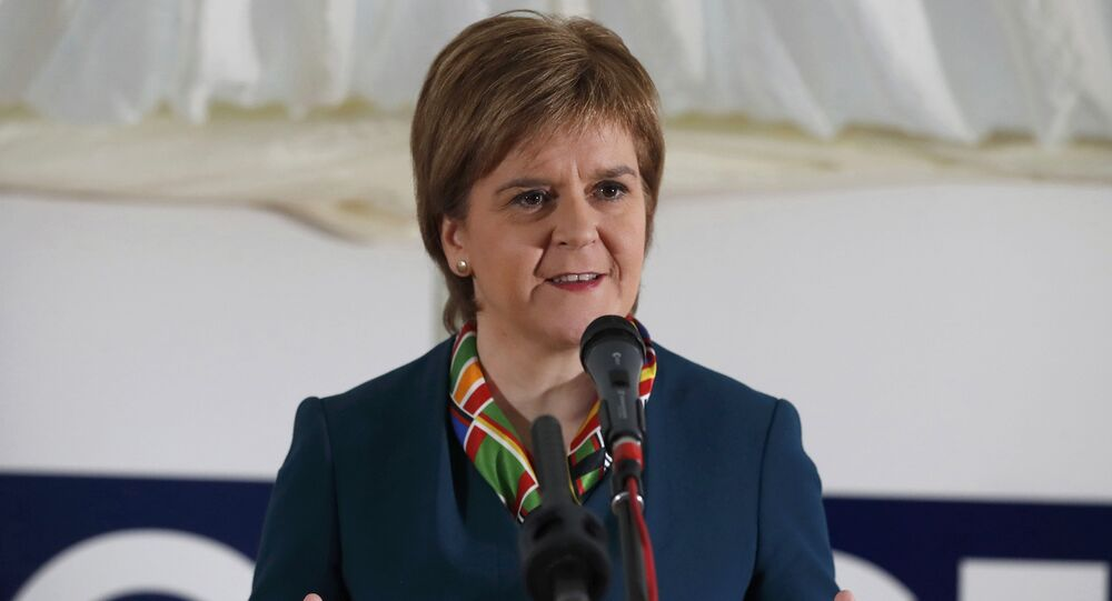 Scotland's First Minister Nicola Sturgeon attends the completion of a 330 million pound deal to buy Britain's last remaining Aluminium smelter in Fort William Lochaber Scotland, Britain December 19, 2016
