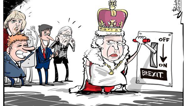 Ok dal Parlamento, solo la Regina Elisabetta sulla strada per l'avvio della Brexit - Sputnik Italia